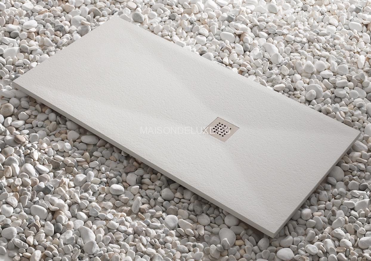 Kretta plato de ducha fabricado con 16 tipos de cargas - Platos de ducha minerales ...