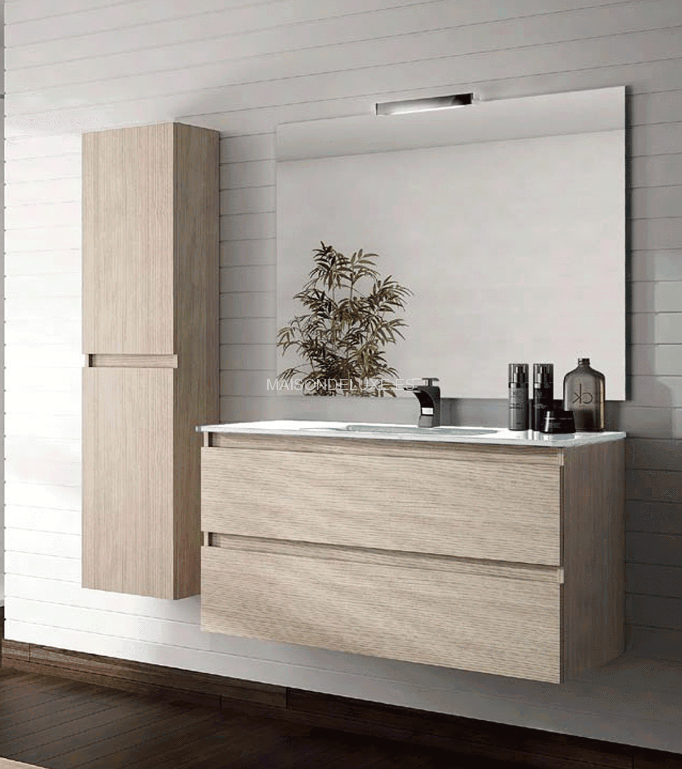 Mueble de lavabo obtenga ideas dise o de muebles para su for Muebles lavabo aki