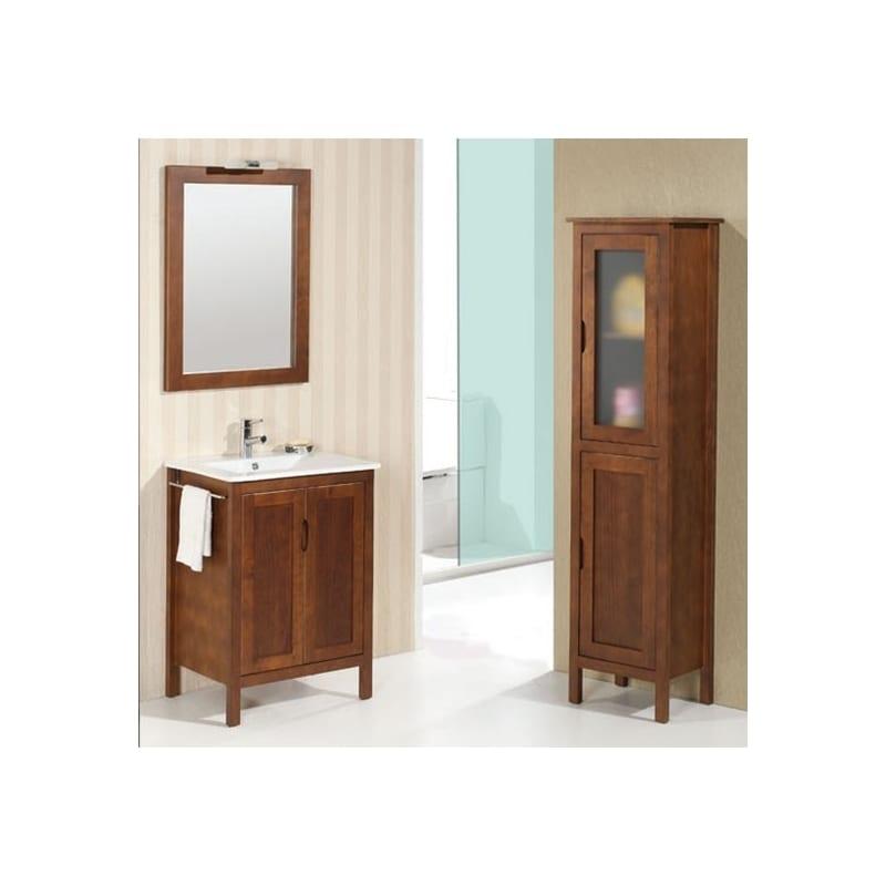 Mueble de ba o zamora de 60cm de 2 puertas de bath quality - Muebles de pino rusticos ...