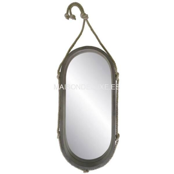Espejo Marinero Oval 111x52cm